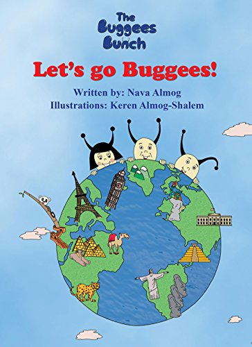 Children's book: Let's Go Buggees!: Explore the world and meet new friends in an experiential way, beautiful illustrations (The BuggeesBunch Book 1)